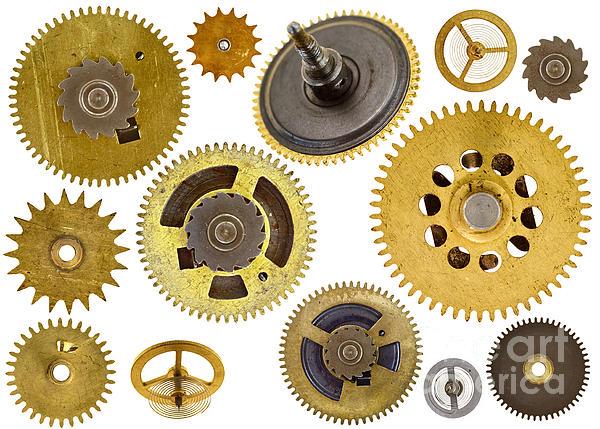 Cogwheels - Gears Print by Michal Boubin