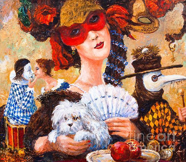 Colombina Print by Igor Postash