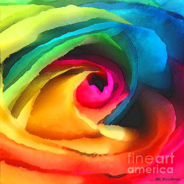 Color Launch Print by ME Kozdron