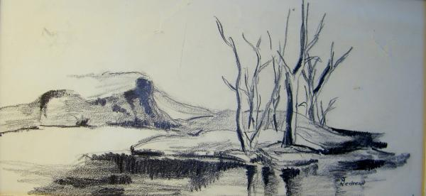 Art Sketches Landscapes Landscape Pencil Sketches