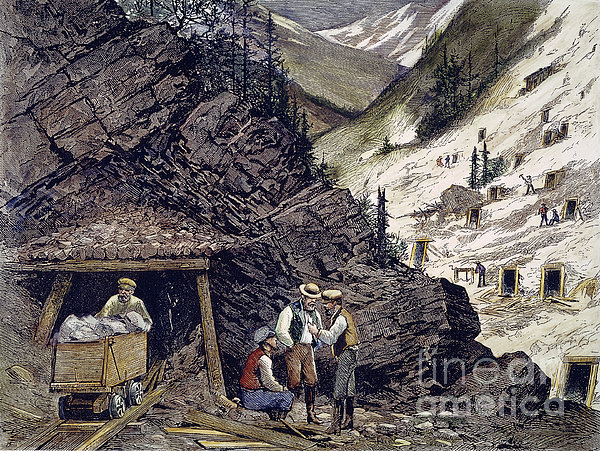 Colorado Silver Mines, 1874 Print by Granger