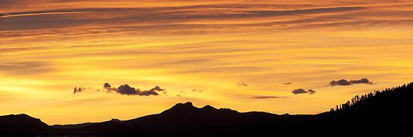 Colorado Sunrise Landscape Print by Bronze Riser