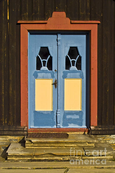 Colorful Entrance Print by Heiko Koehrer-Wagner