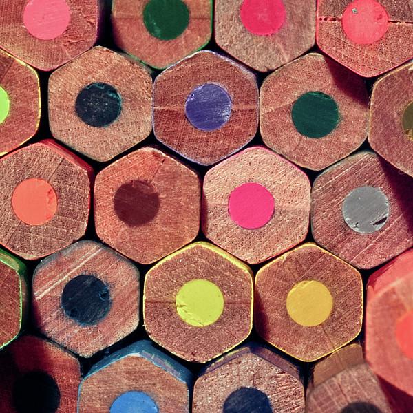 Colorful Painting Pencils Print by Erdem Civelek visual