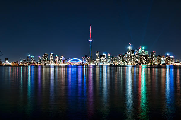 Mark Whitt - Colorful Reflections of Toronto