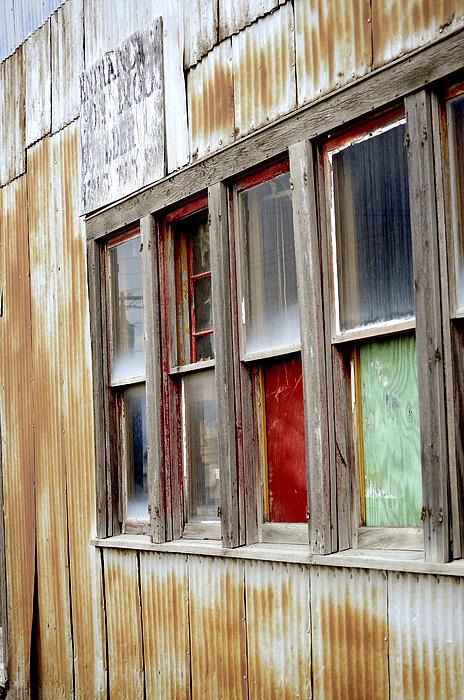 Colorful Windows Print by Fran Riley