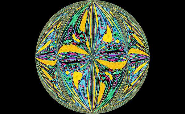 Family Treasures PRIVATE GALLERY - Colorific Sphere