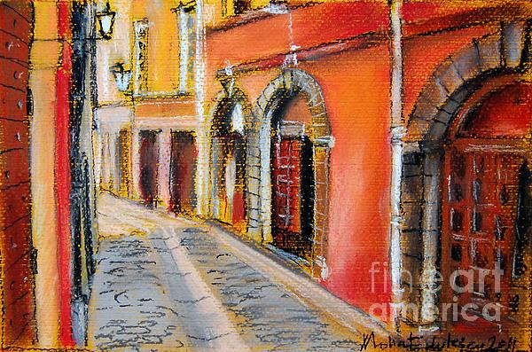 Colors Of Lyon 4 Print by Mona Edulesco