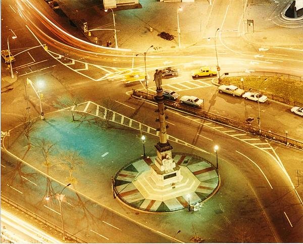 Columbus Circle Print by Don Youngclaus
