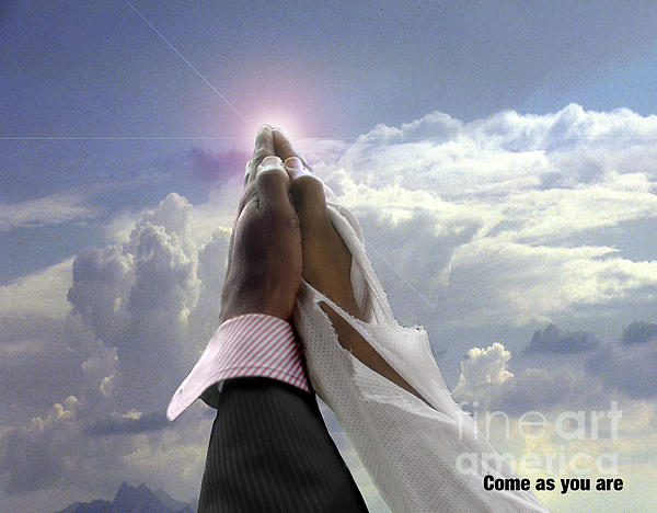 Come As You Are Print by Reggie Duffie
