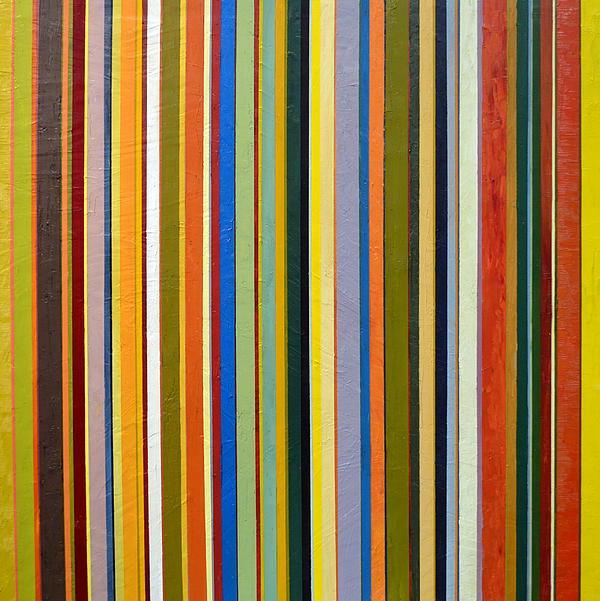 Comfortable Stripes Print by Michelle Calkins