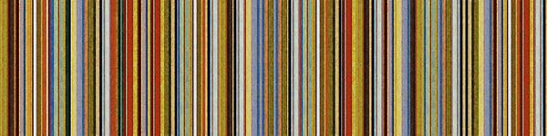 Comfortable Stripes Vlll Print by Michelle Calkins