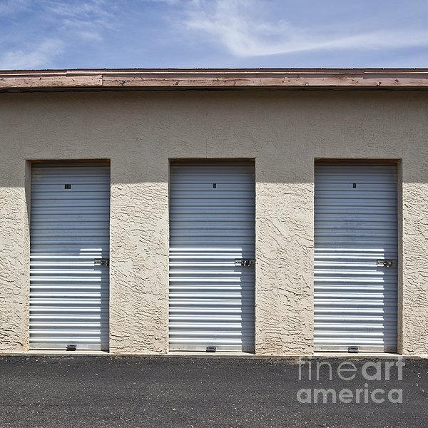 Commercial Storage Facility Print by Paul Edmondson