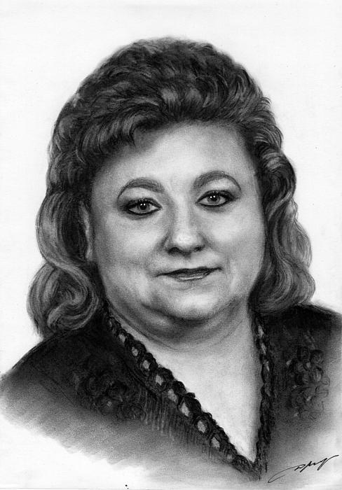 Danguole Serstinskaja - Commissioned portrait