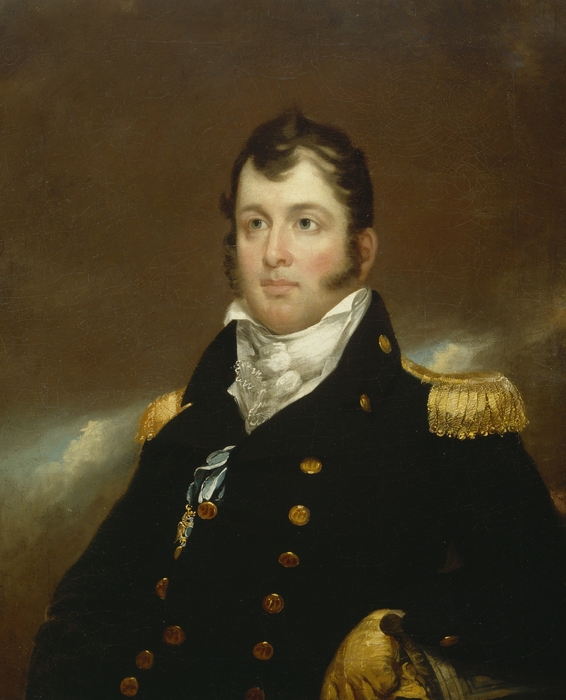 Commodore Oliver Hazard Perry Print by John Wesley Jarvis