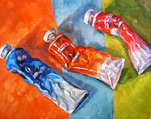Complementary Colors Painting by Mark Hartung - Complementary Colors