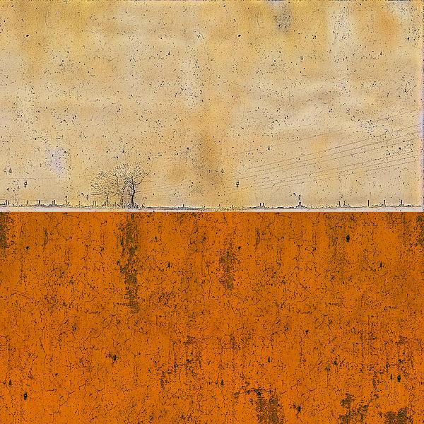 Concrete Landscape Two Print by Stefan Kuhn