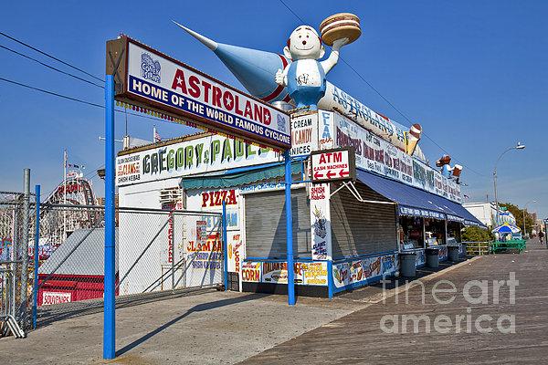 Coney Island Memories 11 Print by Madeline Ellis
