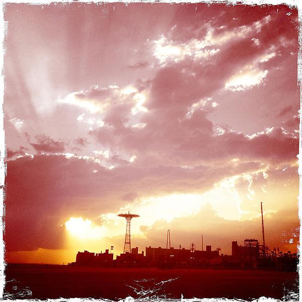 Frank Winters - Coney Island Sunset