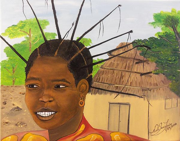 Nicole Jean-Louis - Congolese Woman