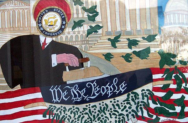 Congress Vs.people Print by Claudia French