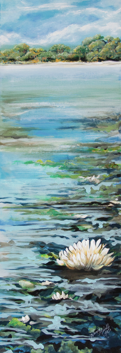 Considering Lily Print by Michele Hollister - for Nancy Asbell