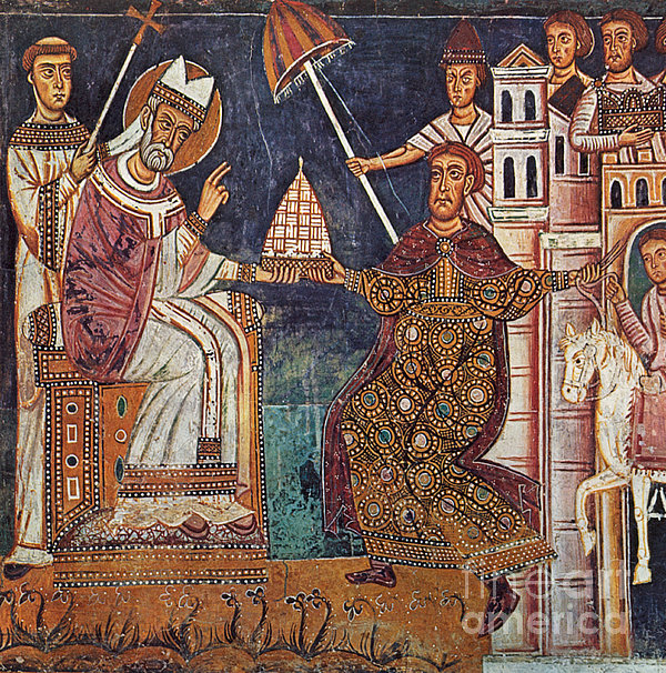 Constantine I (c280-337) Print by Granger