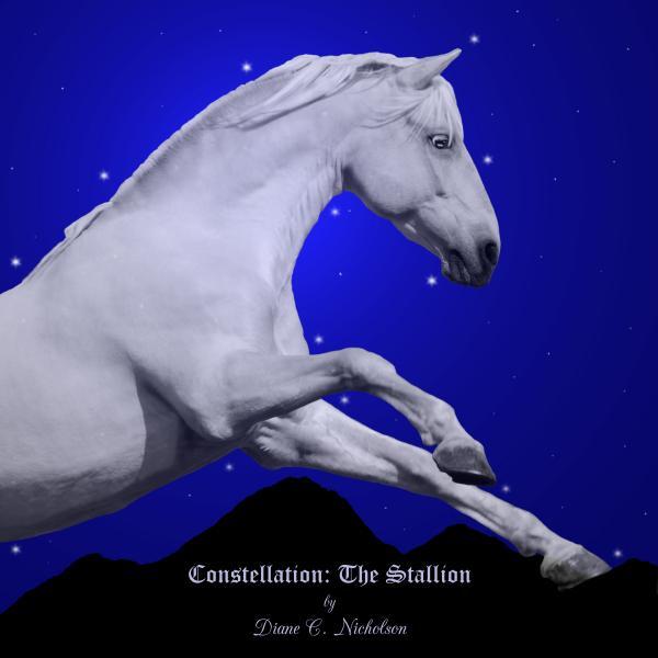 Constellation The Stallion Print by Diane C Nicholson