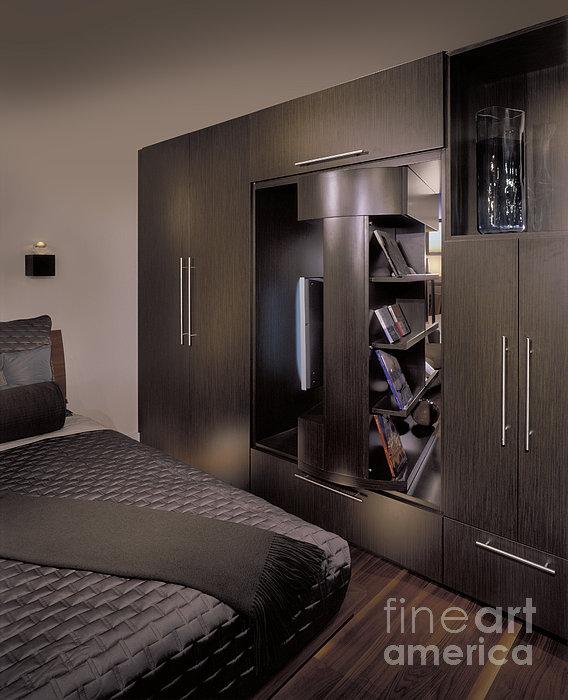 Contemporary Bedroom Print by Robert Pisano