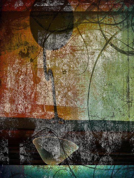 Conversation Decline Print by Jerry Cordeiro