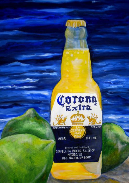 Corona Print by Patti Schermerhorn