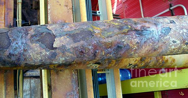 Corrosion Print by Ron Bissett