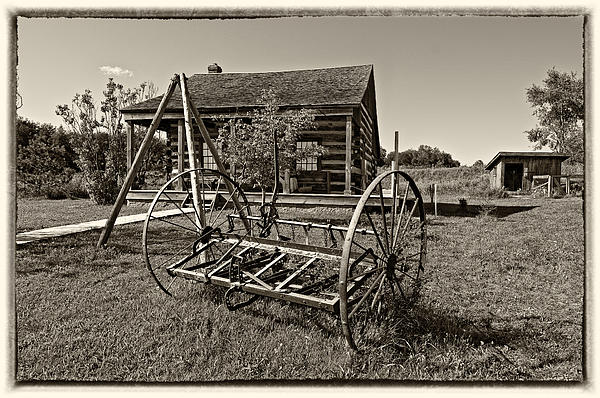 Country Classic Monochrome Print by Steve Harrington