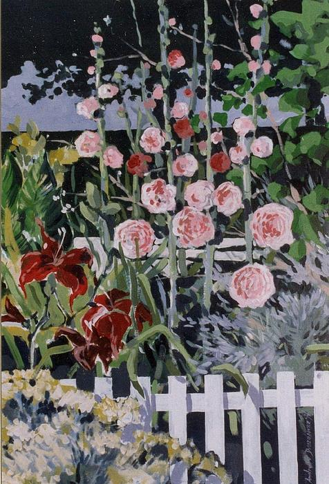 Country Garden 3 Of 3 Print by Andrew Drozdowicz