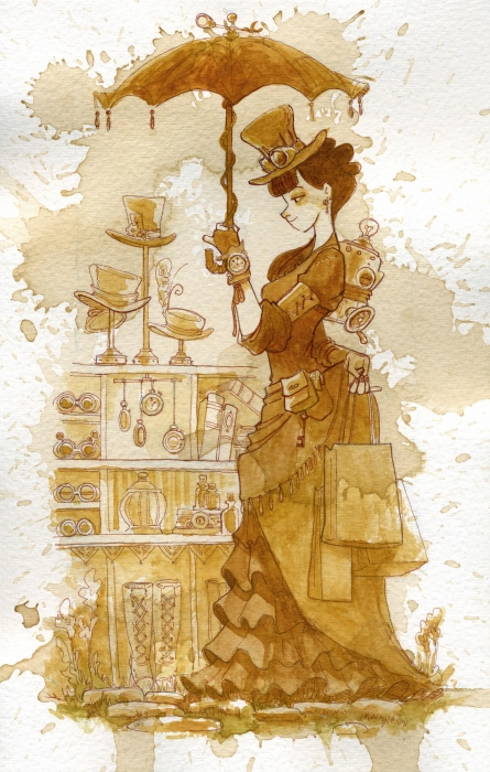 Couture Print by Brian Kesinger