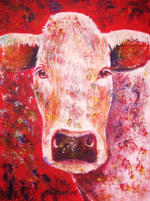 Cow Print by Anastasis  Anastasi