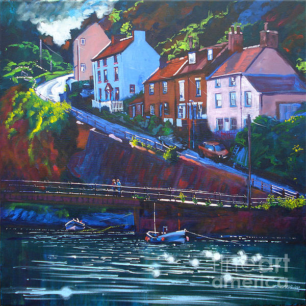 Cowbar - Staithes Print by Neil McBride
