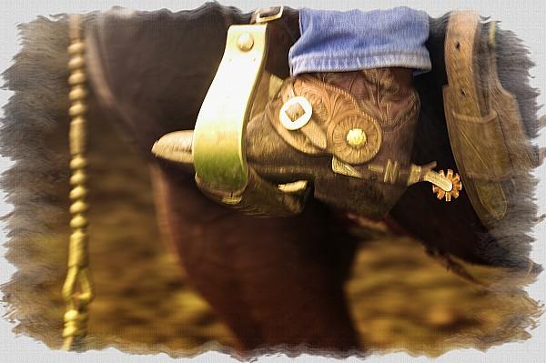 Cowboy Boot Print by Carson Ganci
