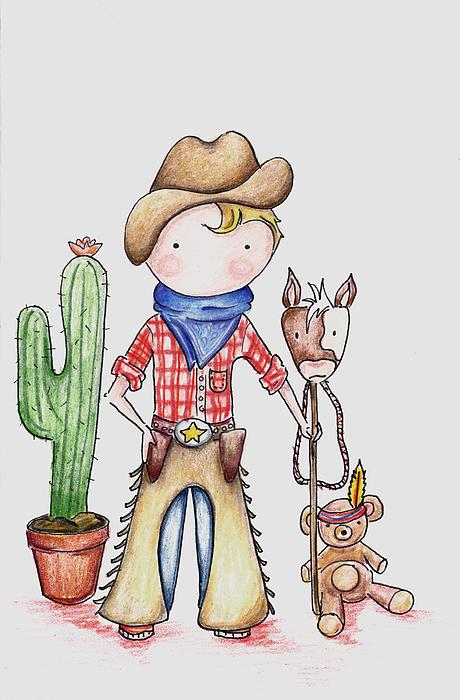 Cowboy Print by Sarah LoCascio