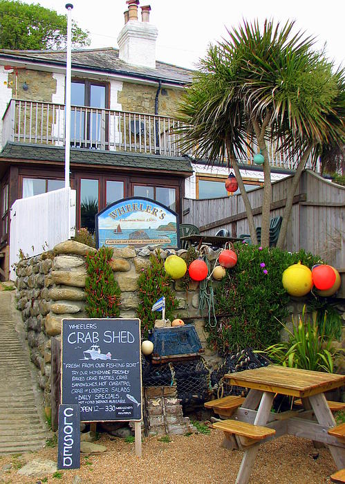 Carla Parris - Crab Shed at Steephill Cove