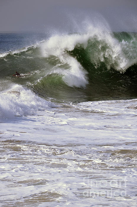 Crashing Wave Print by Timothy OLeary