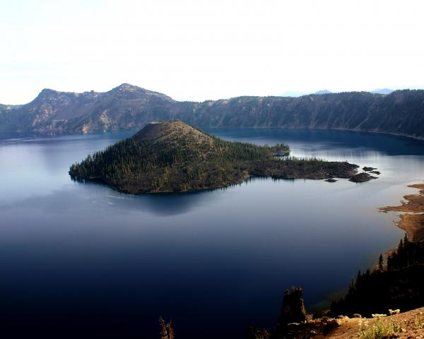 Crater Lake 2 Print by Marty Koch