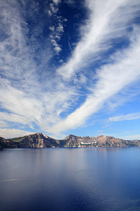 Crater Lake Sky Print by Pierre Leclerc Photography