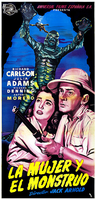 Creature From The Black Lagoon, Aka La Print by Everett