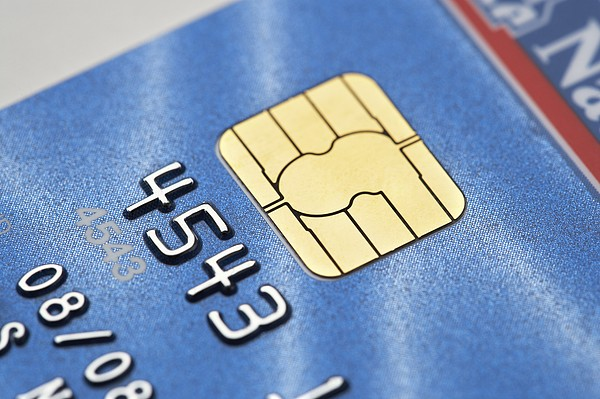Credit Card Microchip Print by Jon Stokes