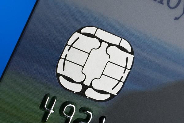 Credit Card Microchip Print by Steve Horrell