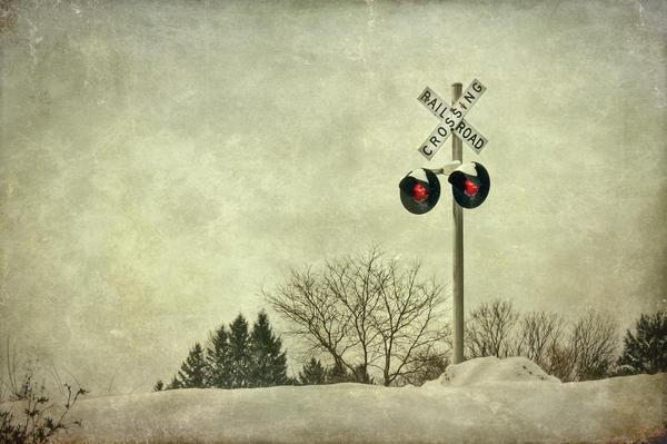 Crossing Over Print by Evelina Kremsdorf