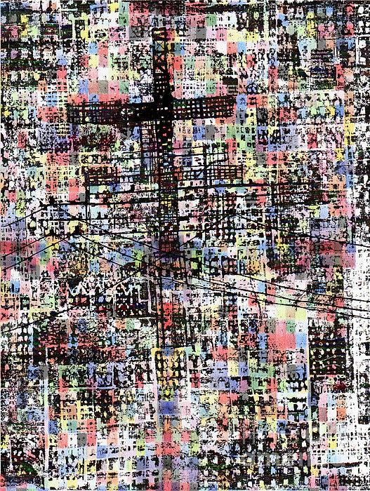 Cruciform Xvii Print by Andy  Mercer
