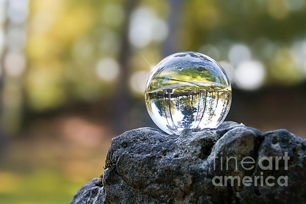 Crystal Ball I Print by Viaina