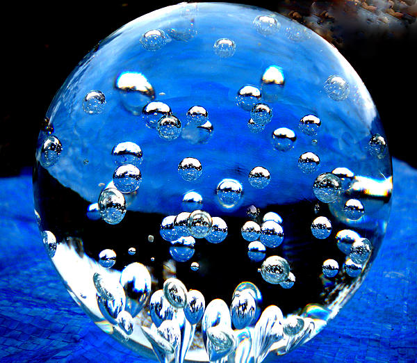 Crystal Drops From A Global View Print by Colette V Hera  Guggenheim